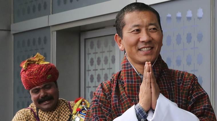 Bhutan Prime Minister Lotay Thsering