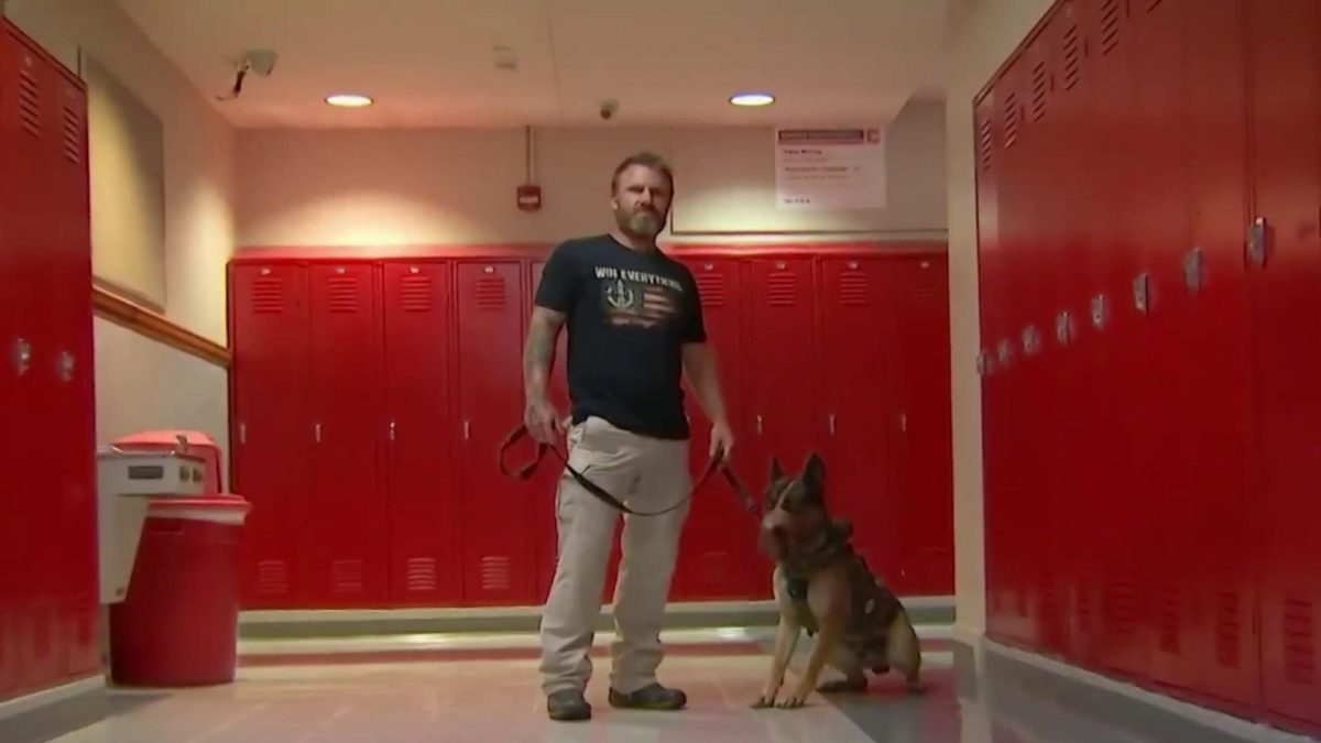Joshua Morton Navy SEAL dog trainer