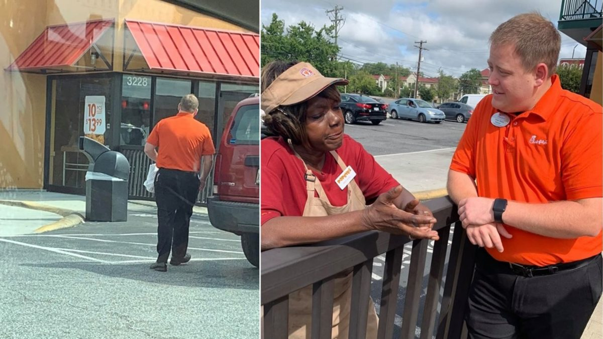 Chick fil A feeds Popeyes employees