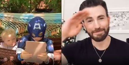 Bridger and Chris Evans
